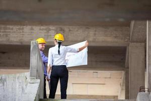 Bauleiter Architekt foto