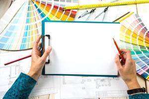 Whitepaper zum Platzieren Ihres Textes foto