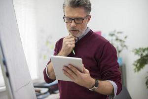 Digital Tablet kann das Problem lösen