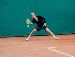 Tennisspieler (junger Mann) foto
