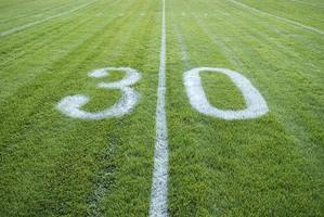 30-Yard-Linie foto