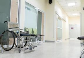 Rollstuhl für Patienten foto