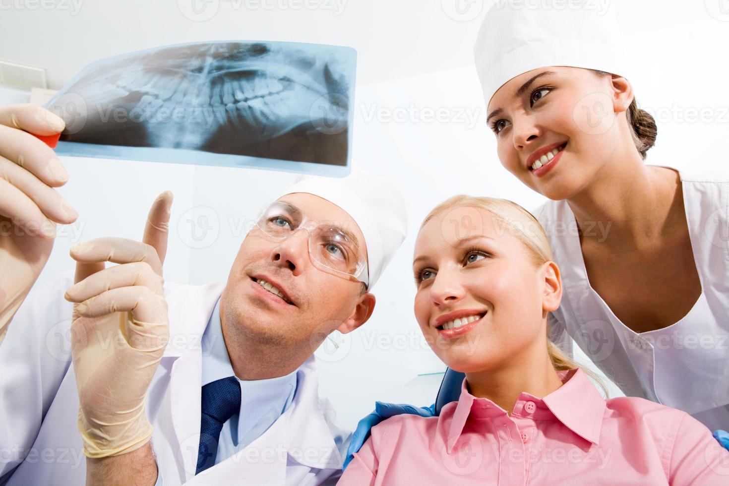 hos tandläkaren foto