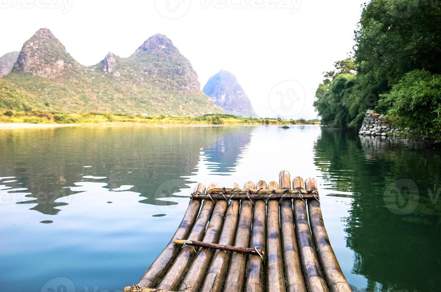 yangshuo nära Guilin, Kina foto