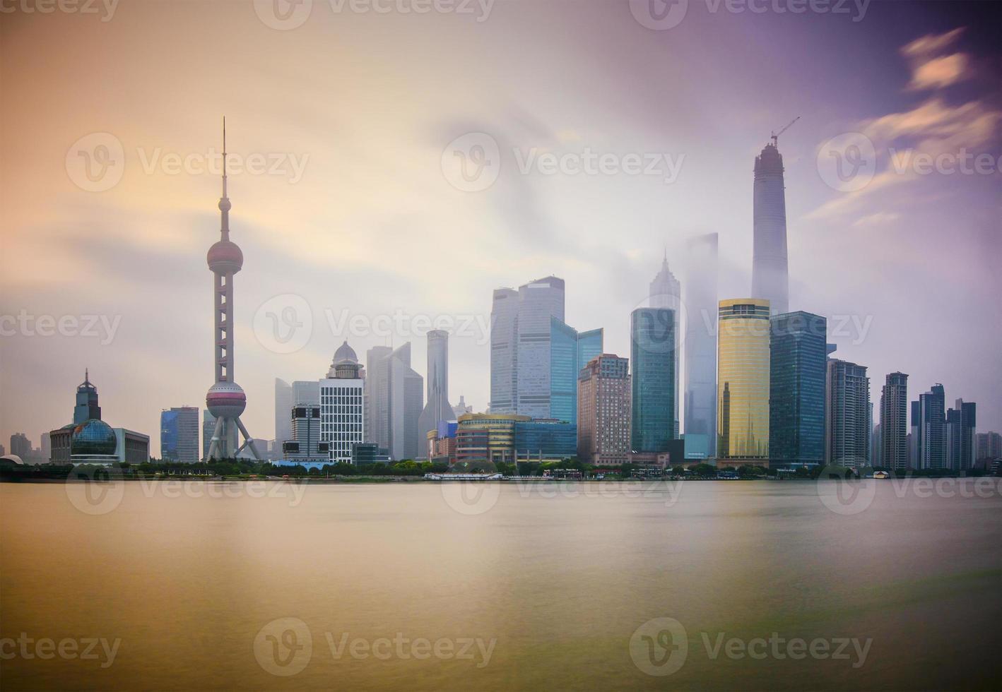 shanghai gryning foto