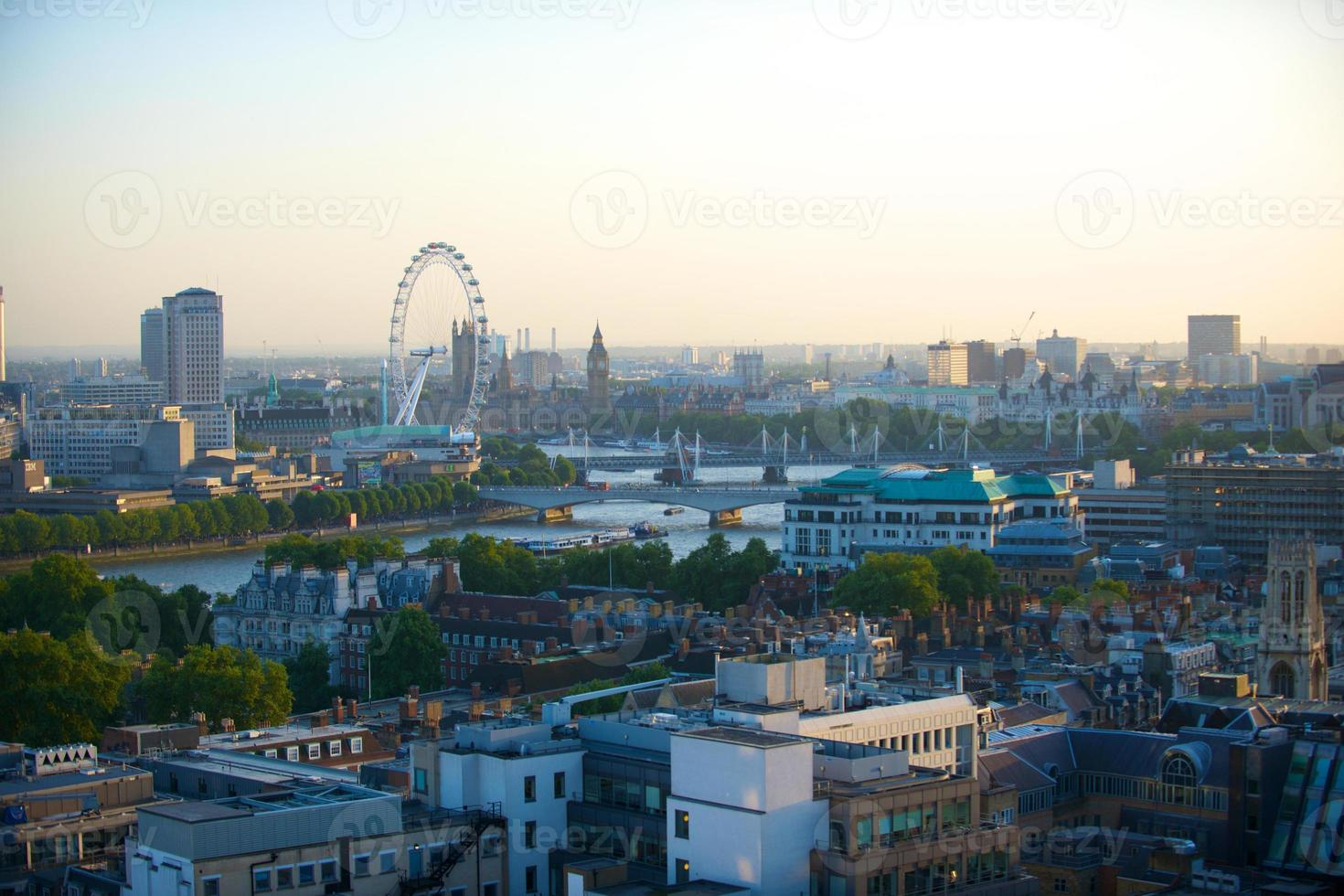 london england city scape foto