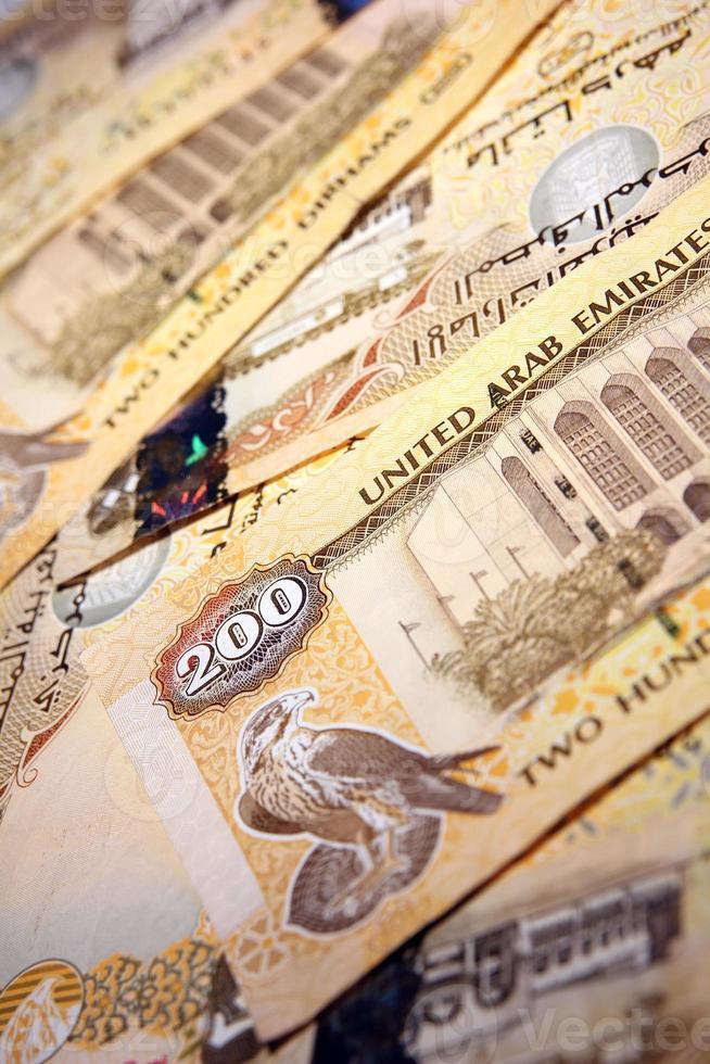 aed - emirati dirhams foto