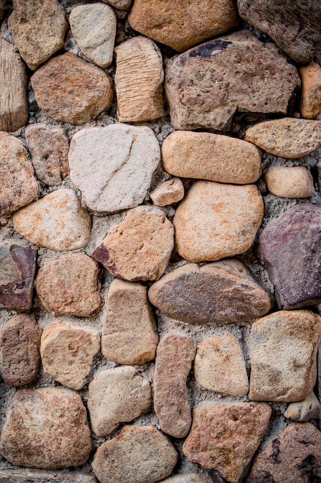 bakgrund av stenmurstextur foto