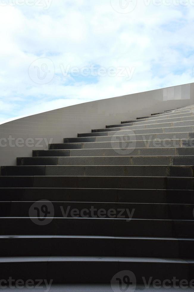 betong trappor foto