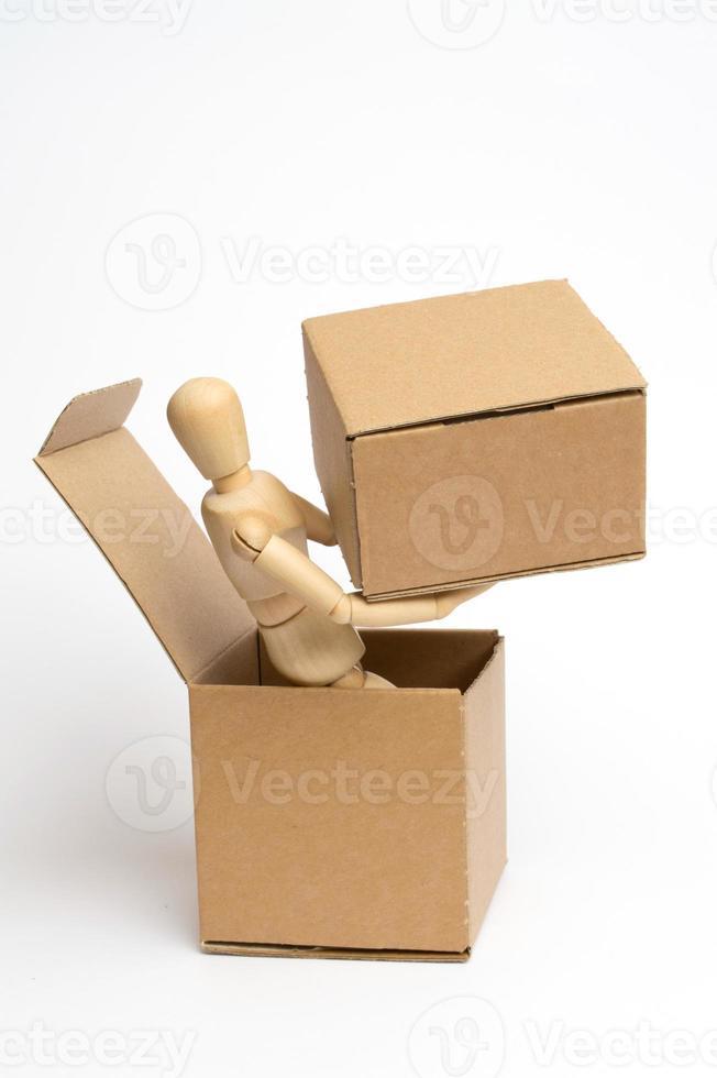 dummy med pack foto
