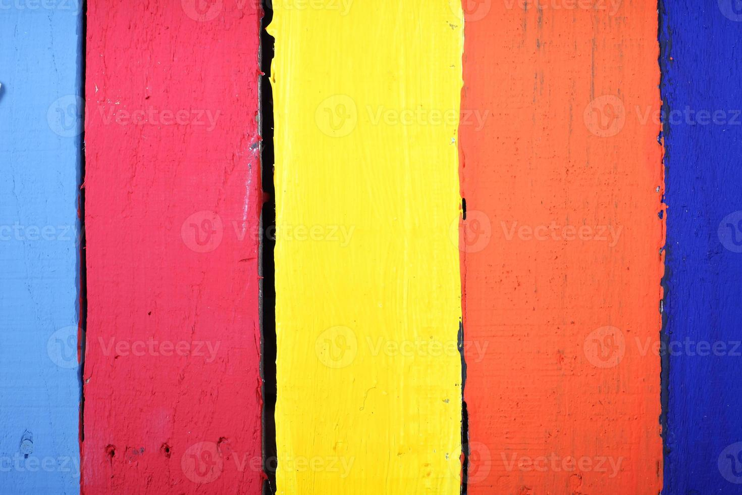 färgglada träpaneler foto
