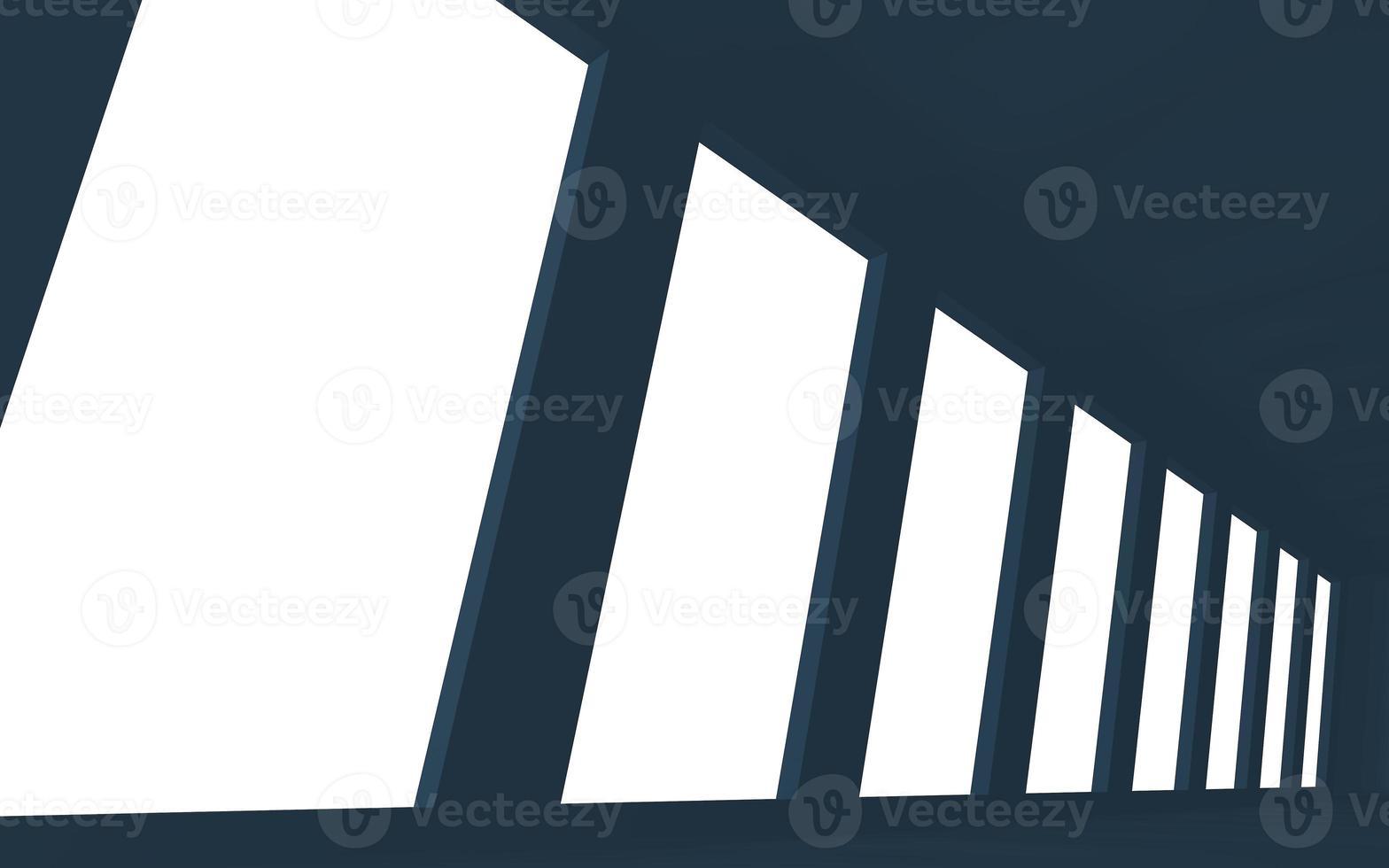 interiörblått utrymme foto