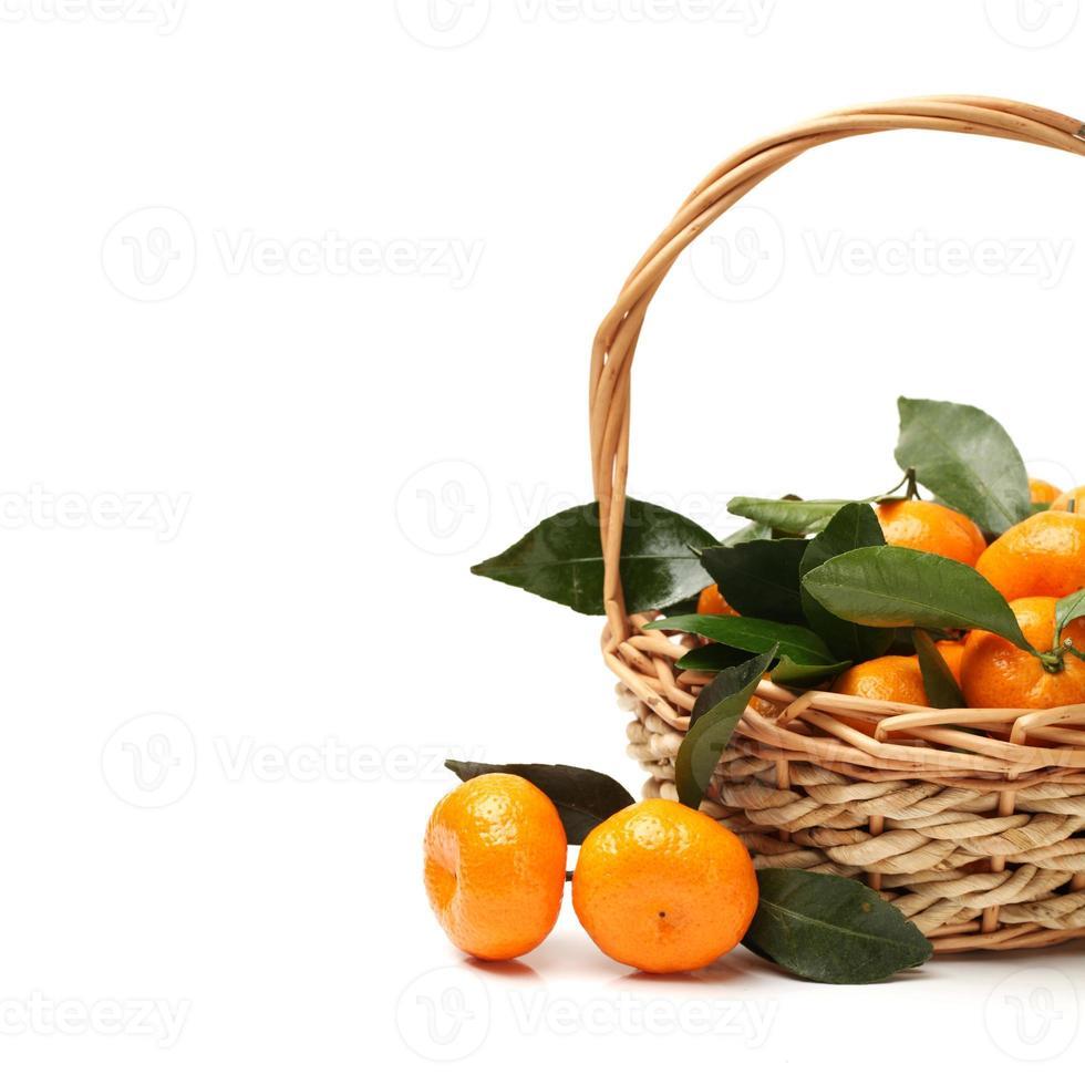 mandarin eller mandarinfrukt foto