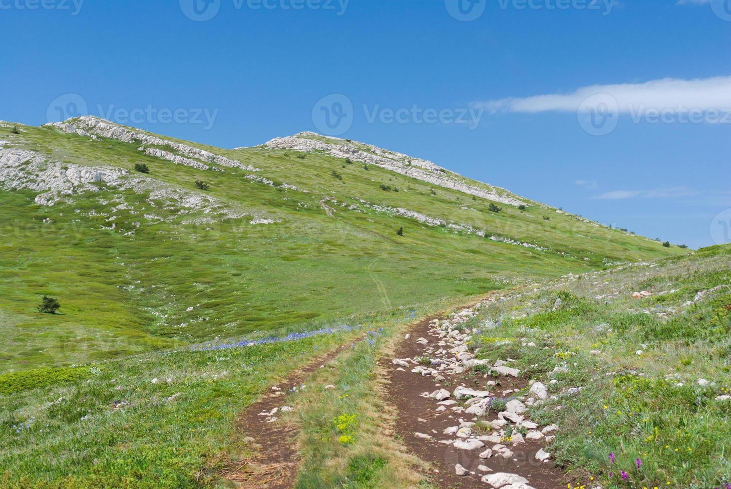 chatyr-dah bergsmassiv på Krim foto