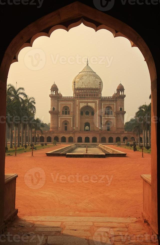 safdarjungs grav, nya delhi, Indien foto