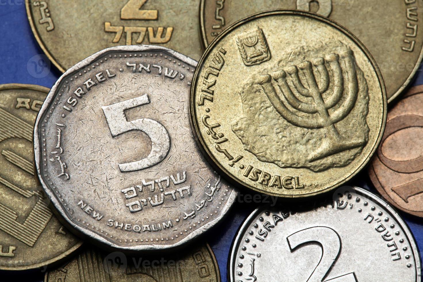 Israels mynt foto