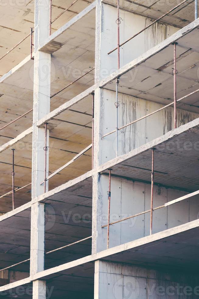 byggbranschens abstrakta geometriska bakgrund foto