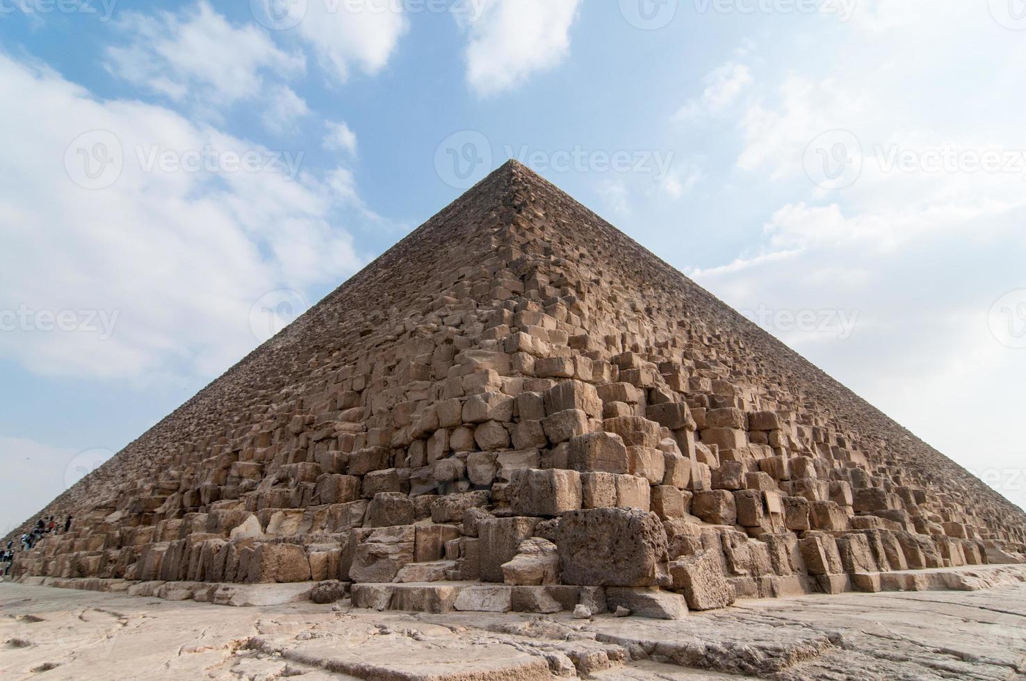 egyptiska pyramider på giza-platån, kairo foto