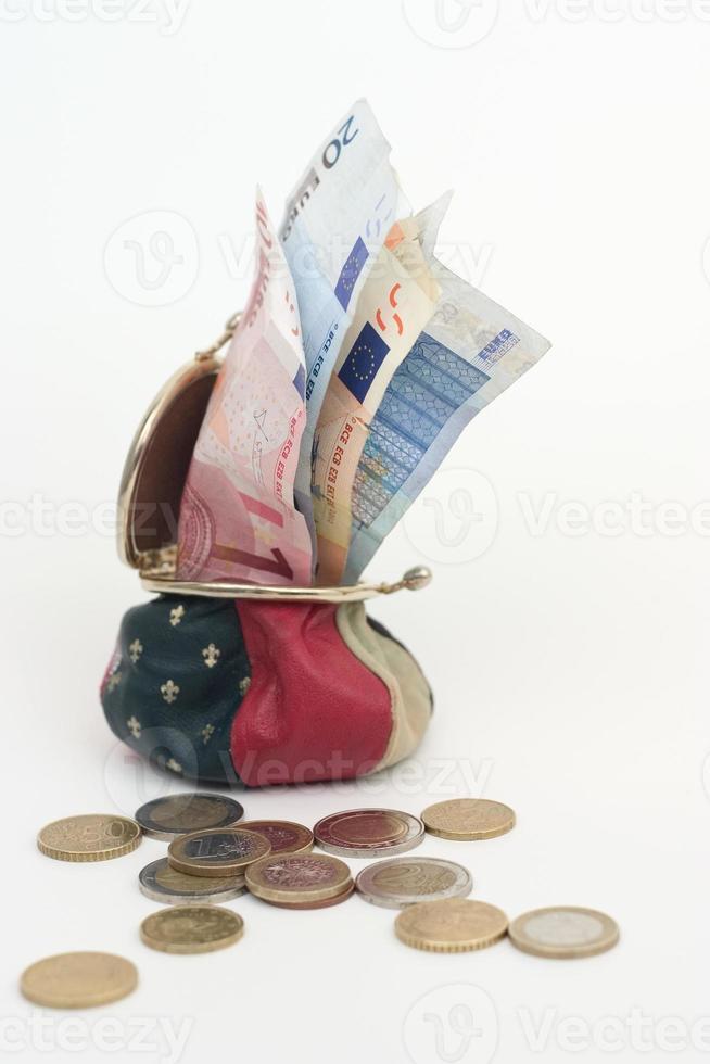 plånbok med pengar1 foto