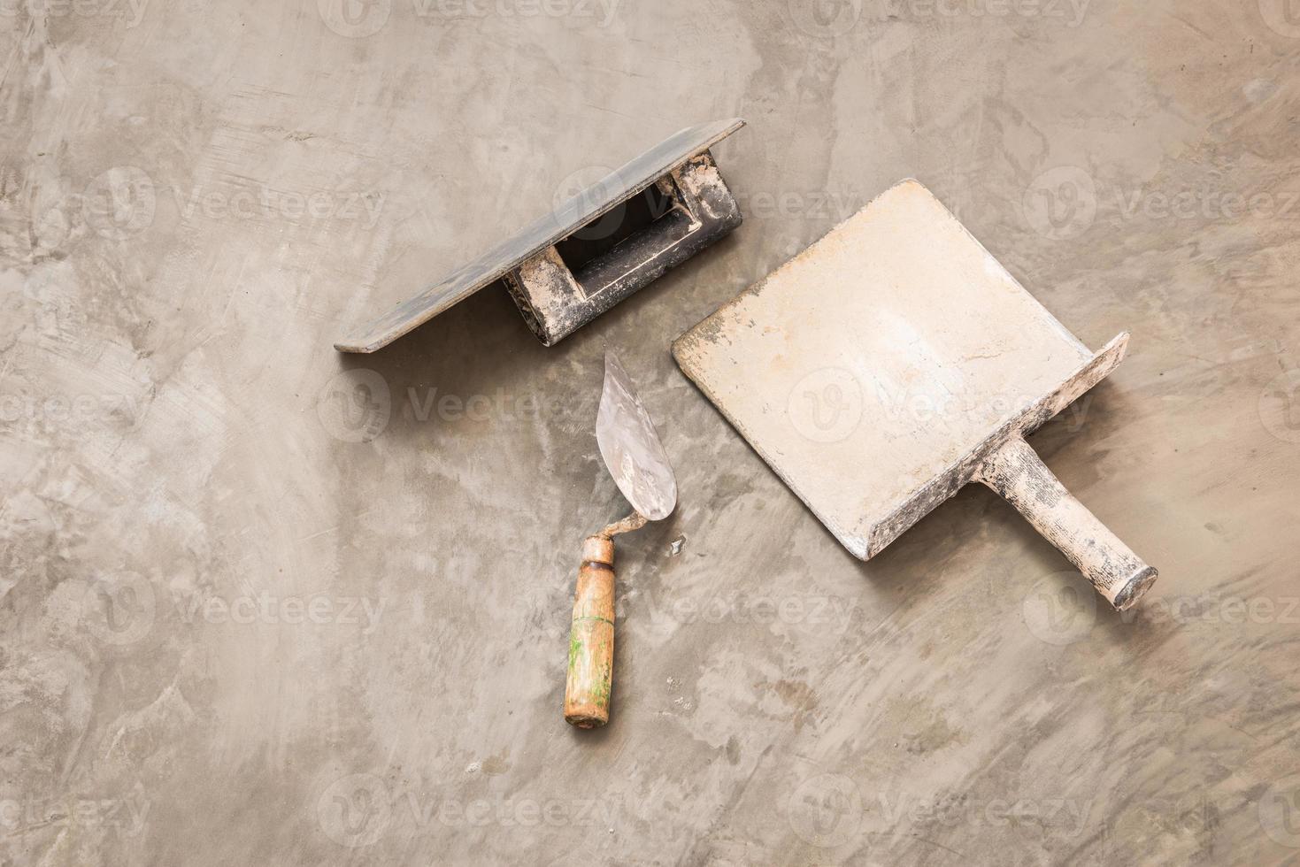 konstruktionsverktyg för betongjobb foto