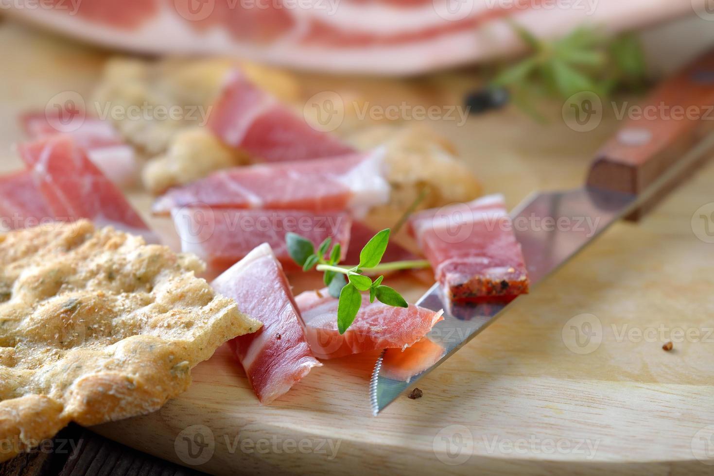 södra tyrolska bacon foto