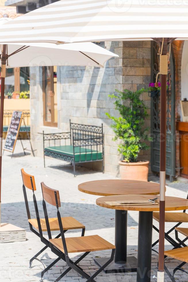 restaurangbord Toscana foto
