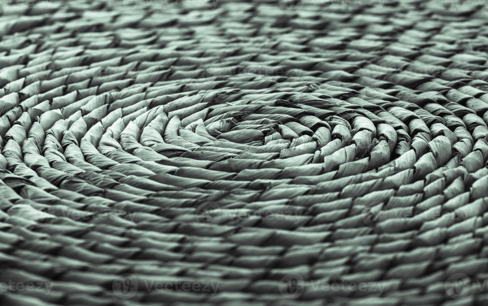 rotting, platsmatta, koncentrisk cirkulär design foto