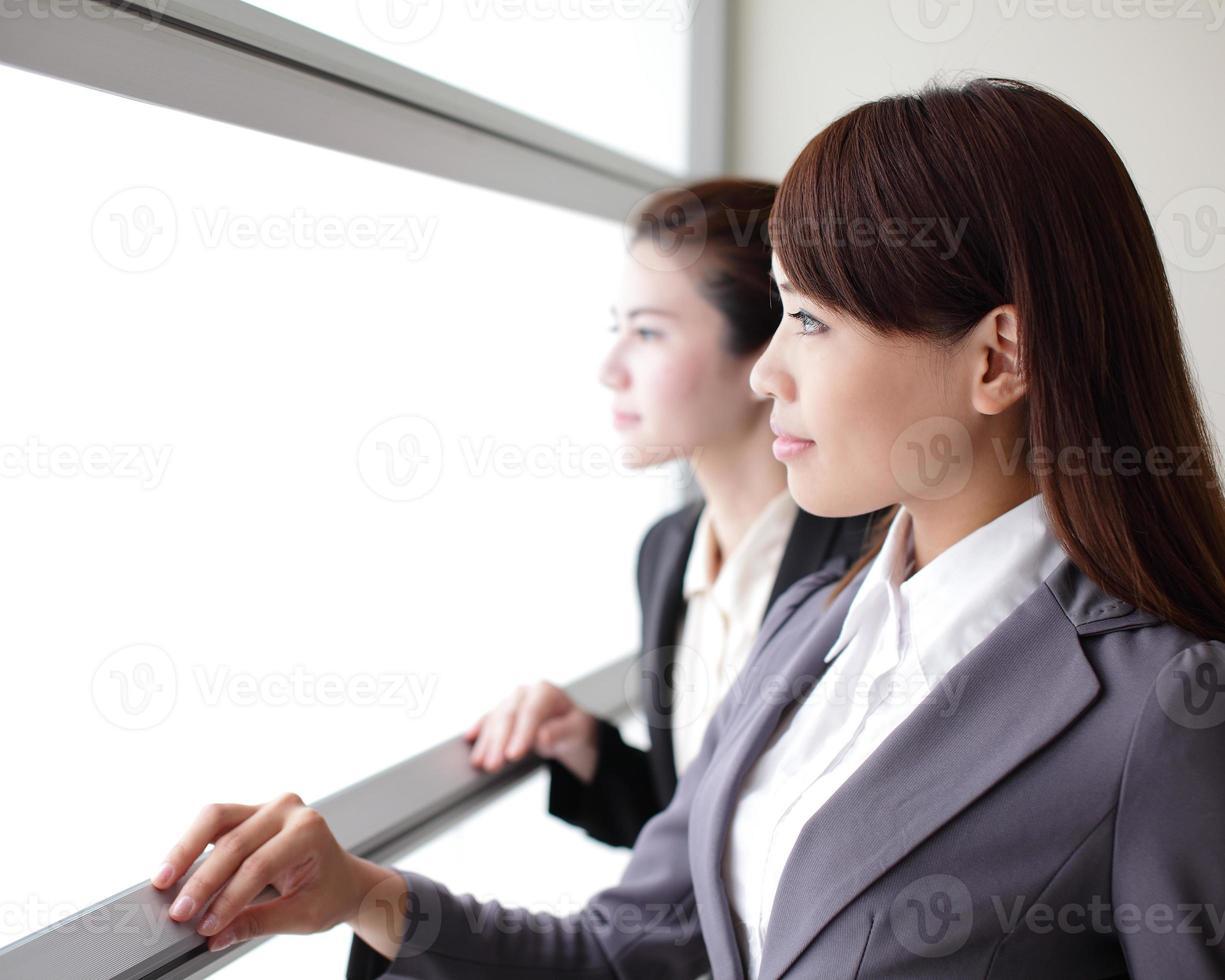 le affärskvinna team look foto