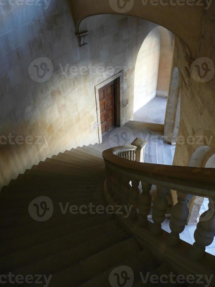 trappuppgång och perspektiv foto