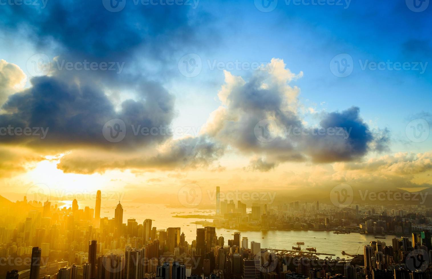 stadens solstråle foto