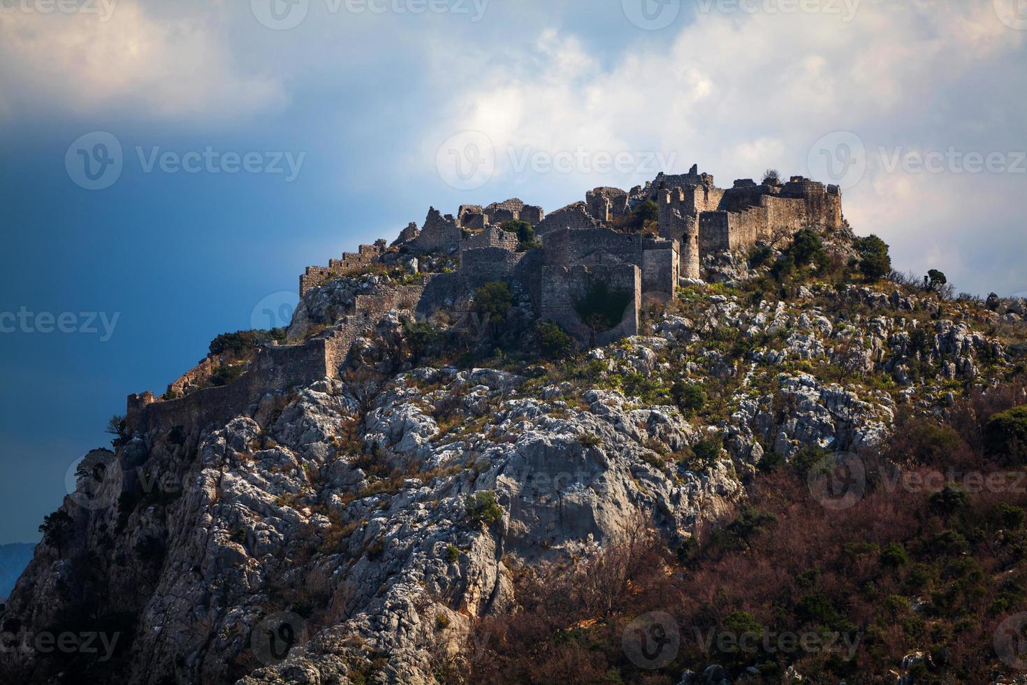forntida fästning foto