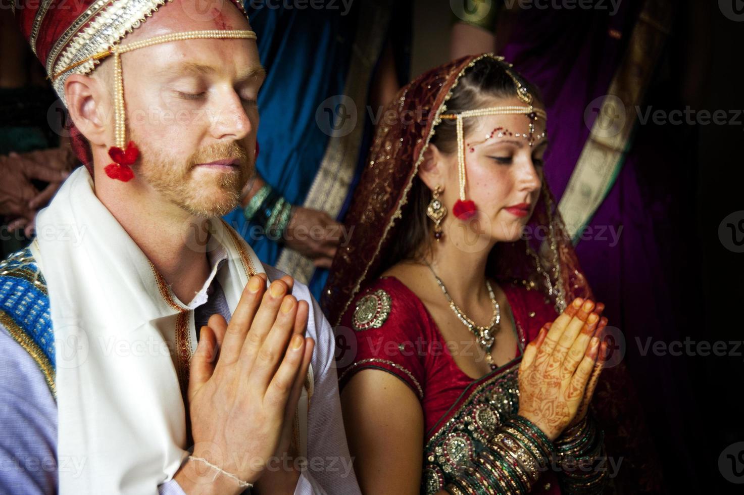 indiskt bröllop foto