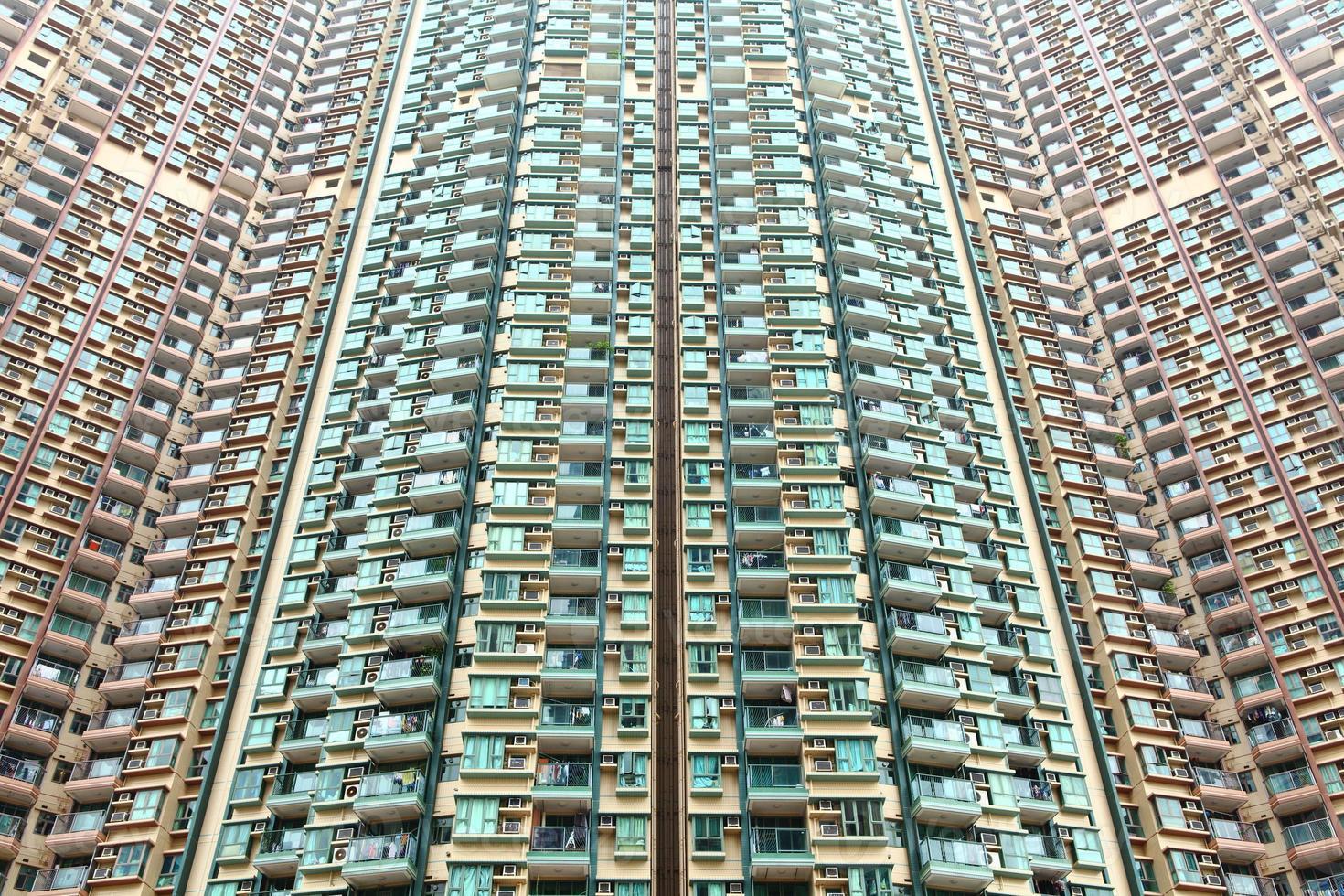 hong kong bostadshus foto