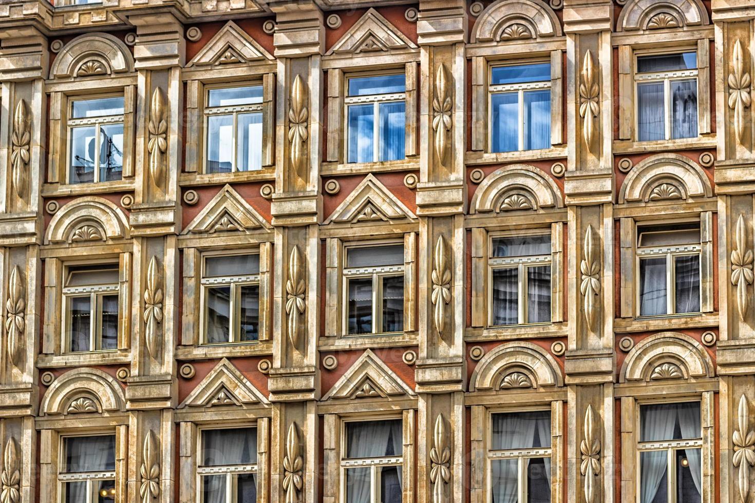 arkitekturen i Prag foto