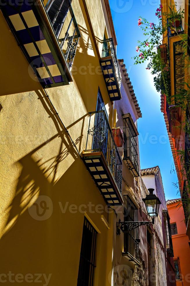 gamla judiska kvarteret i Sevilla foto