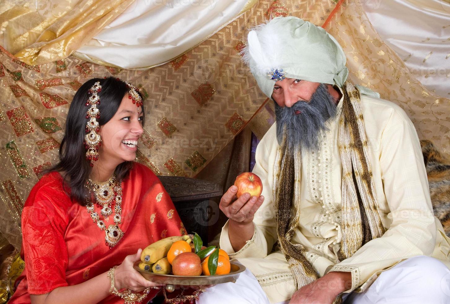 frukt till maharaja foto