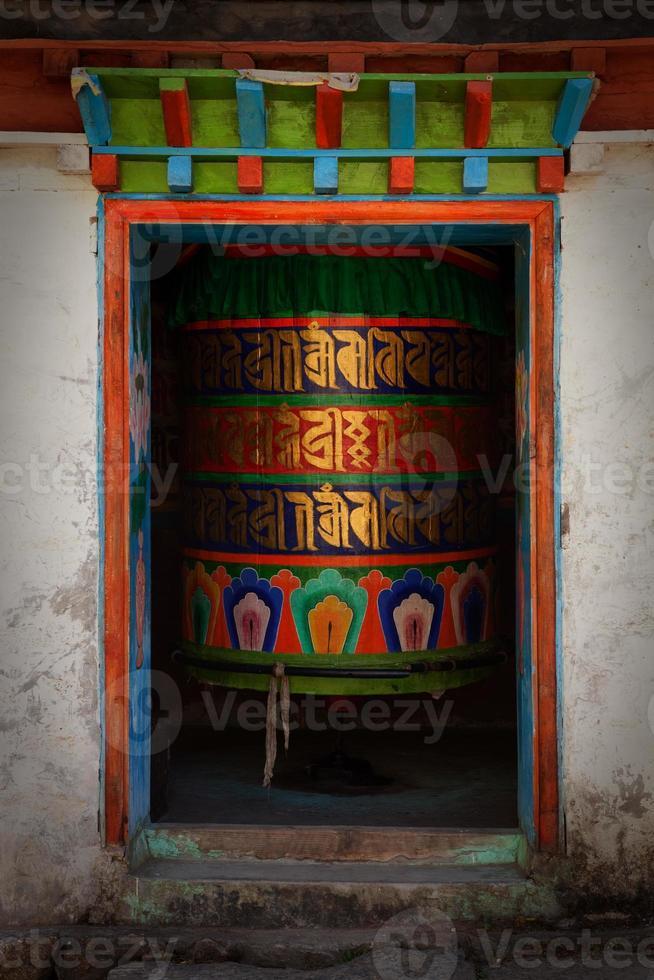 stora färgglada bönhjul. foto