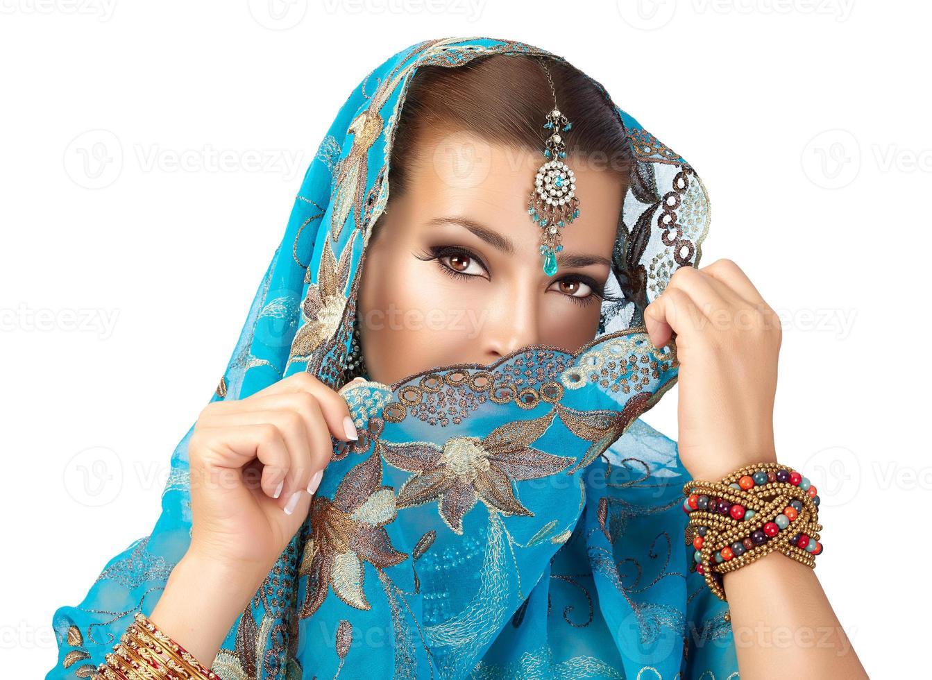 etnisk kvinna foto