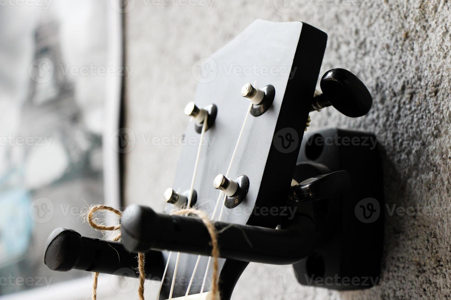 klassisk gitarr, foto