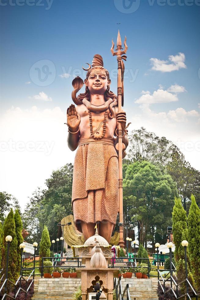 kailashnath mahadev staty i sanga, nepal. foto