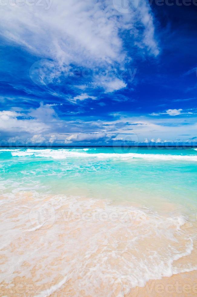 grand anse, mahe island, seychellerna foto