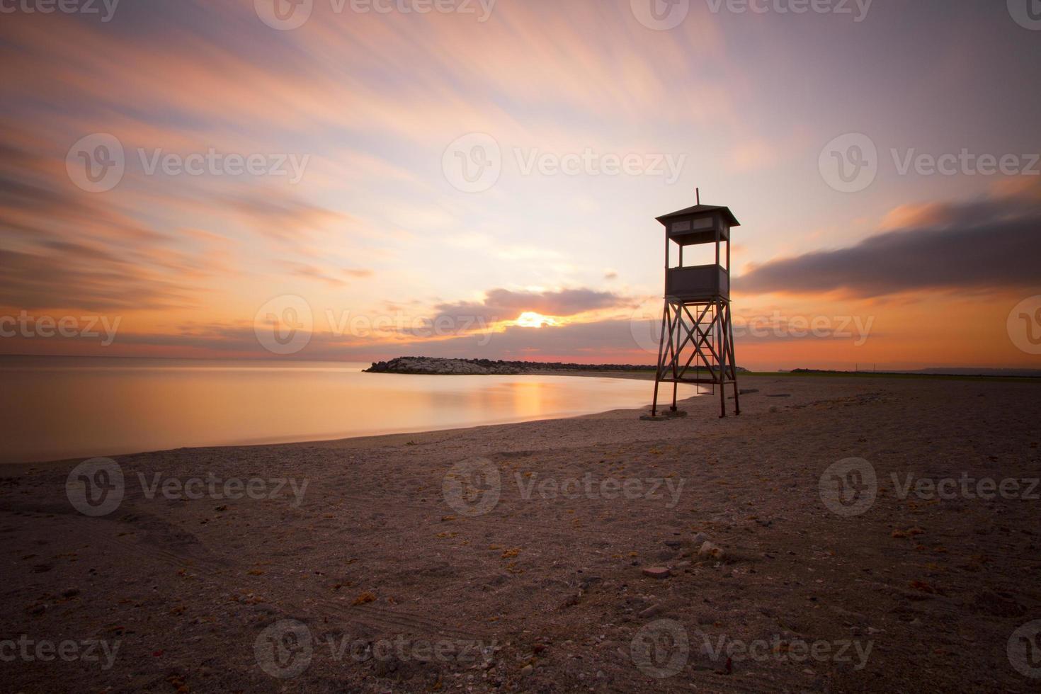 lång exponering havet foto