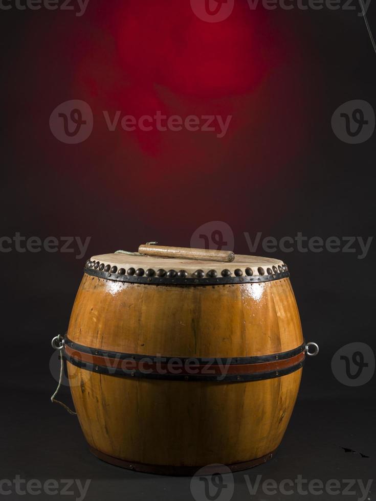 traditionella afrikanska trummor foto