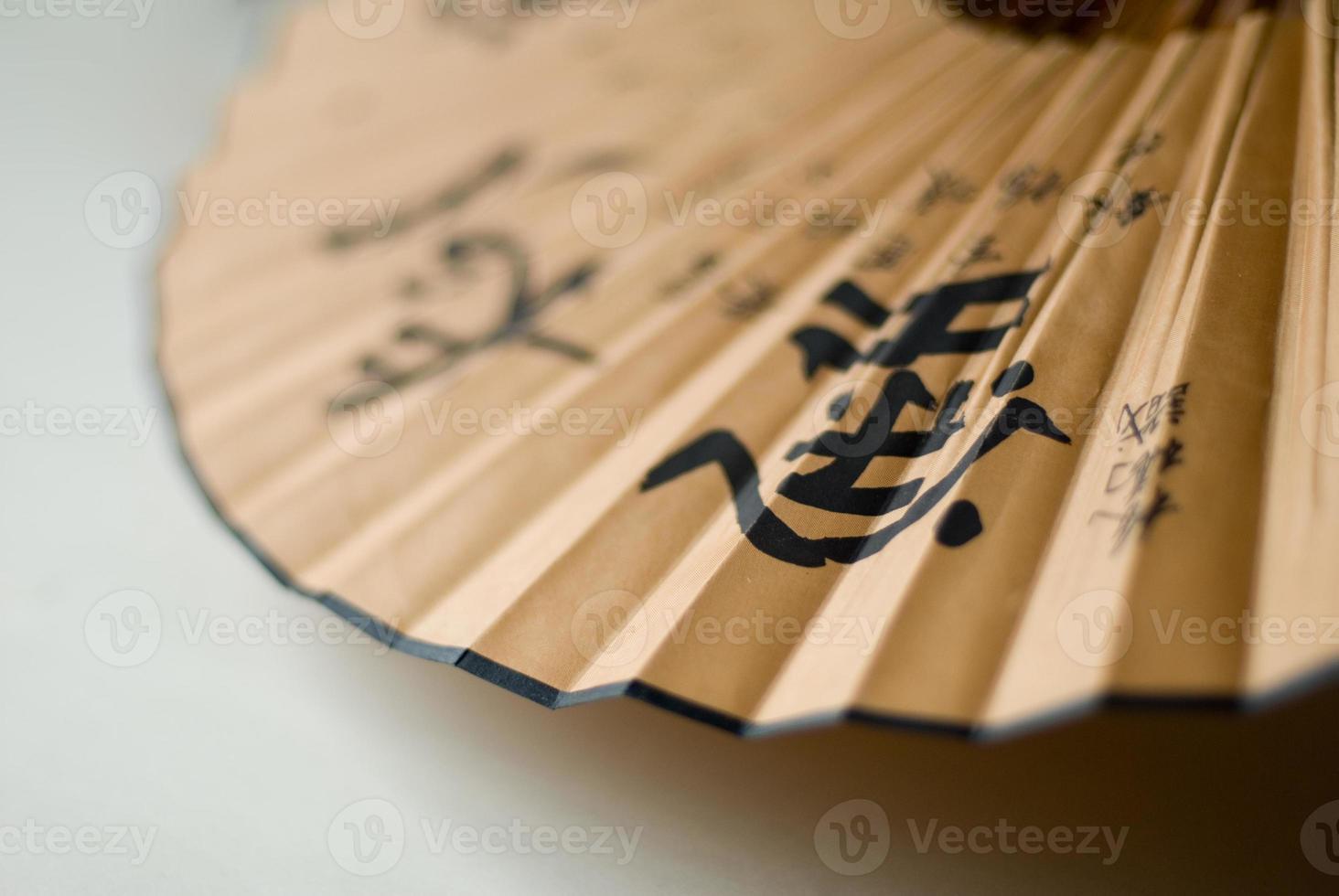 japansk stil fan foto