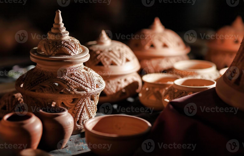 handgjord keramik foto