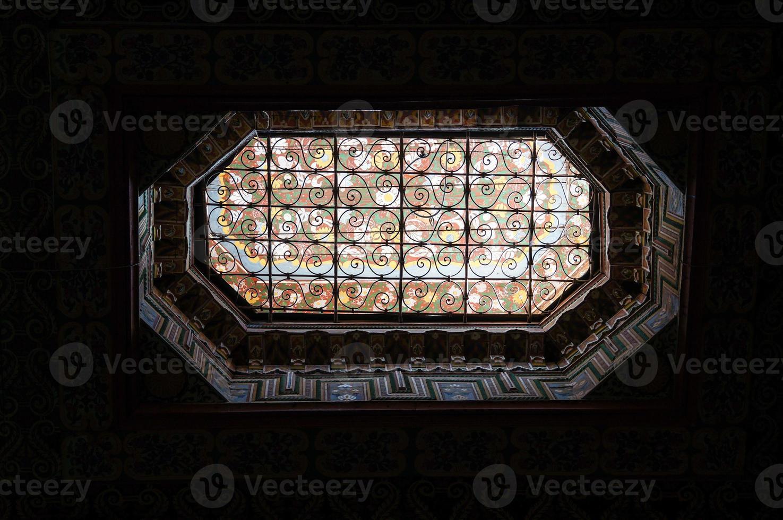 palais de la bahia (bahia palats) i marrakech foto