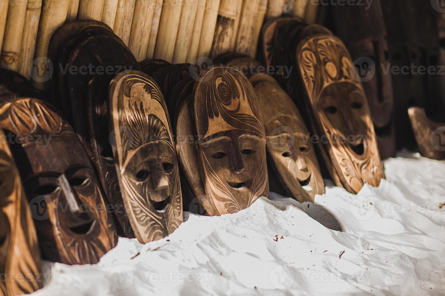 exotisk mask foto
