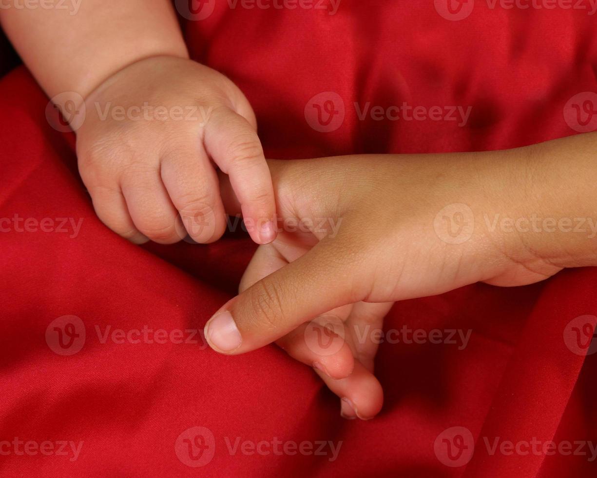små händer foto