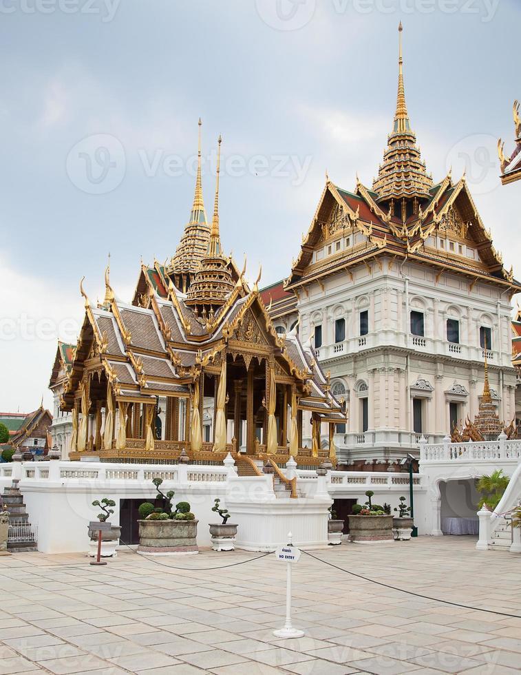 grand palace och tempel för smaragd buddha foto