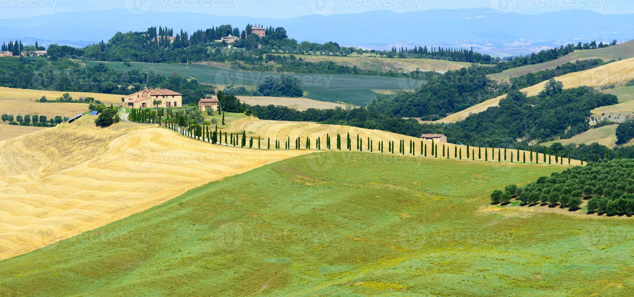 crete senesi (Toscana, Italien) foto